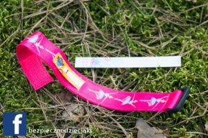 Opaski SOS infobandy różowa baletnica